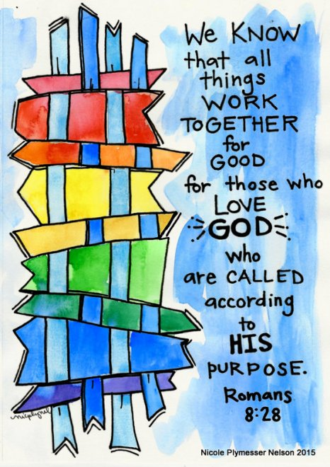 Romans 8:28 Art Tutorial: Plus Tip-ins! – Christian Faith Art ...