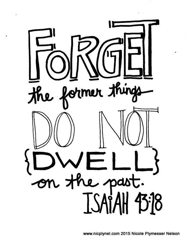 18b19 coloring pages | Isaiah 43:18-19 – Christian Faith Art Journaling and Bible Study
