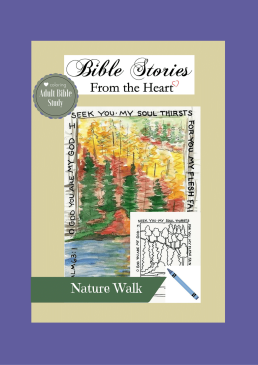 nature walk coloring cover 3